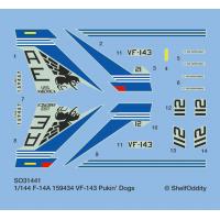 F-14A Tomcat VF-143 Pukin' dogs