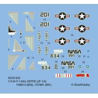 F-14A Tomcat VSTFE (JF-14, NASA 834, 991)