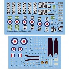 RAF Silver Tempests F.5/TT.5