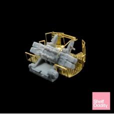 "Royal Navy 2-pdr Mk.VII eight-barrelled naval gun ""Pom-Pom"""