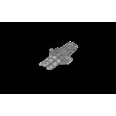 Type 12 Nendo Triple Torpedo Tube 610mm (1923)